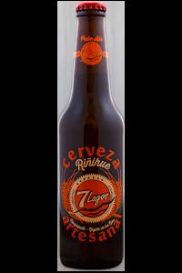 Cerveza 7 lagos Rinihue pale Ale botella